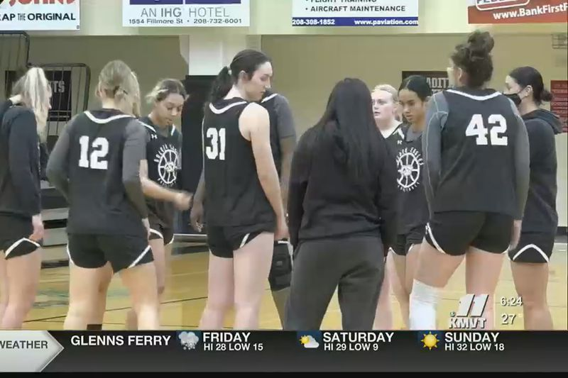 For CSI basketball, it's next woman up. Every player available has been seeing game action...