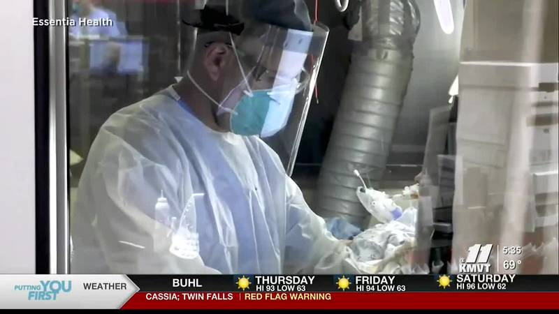 The South Central Public Health District says the COVID-19 vaccines are safe and are working to...