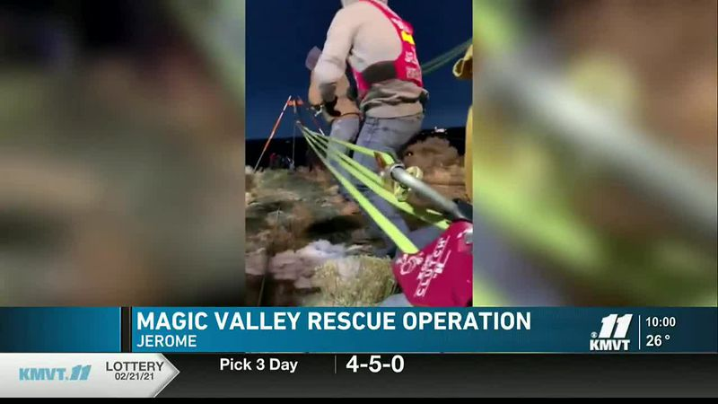 A rescue operation was underway recently, following a hiker stuck in the Snake River Canyon in...