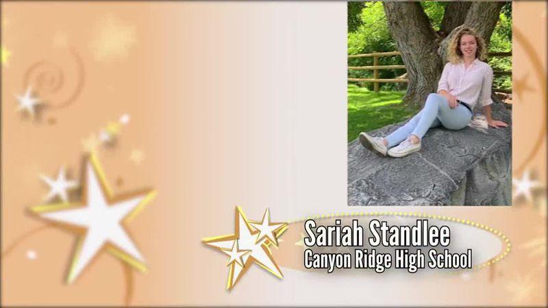 Academic All-Star — Sariah Standlee
