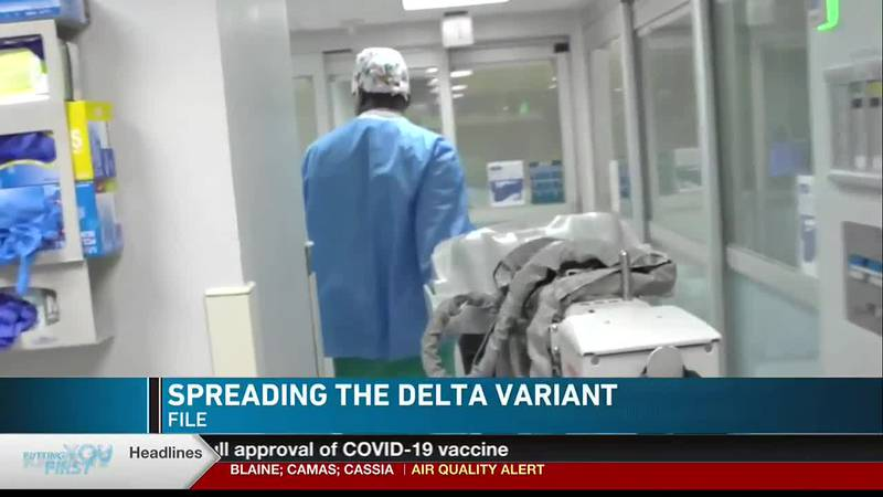 The South Central Public Health District says the delta variant of COVID-19 is more contagious...