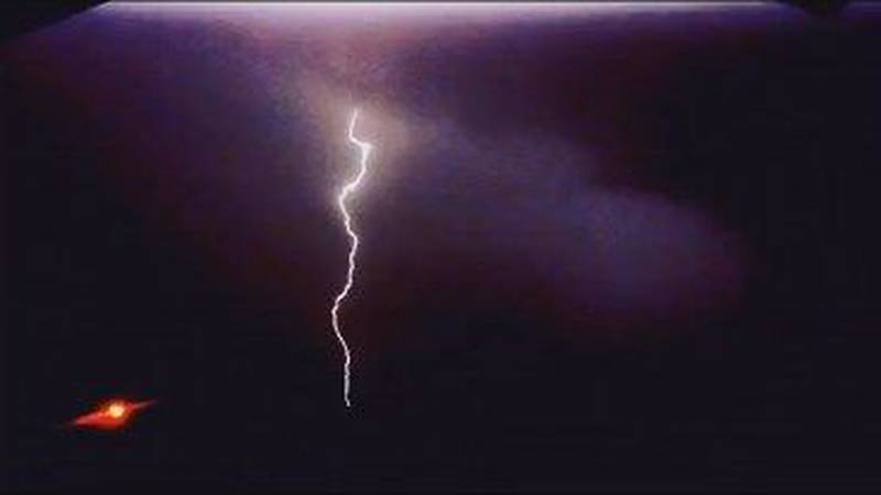 Lightning bolt coming down and hitting the ground. how can you stay safe from this?
