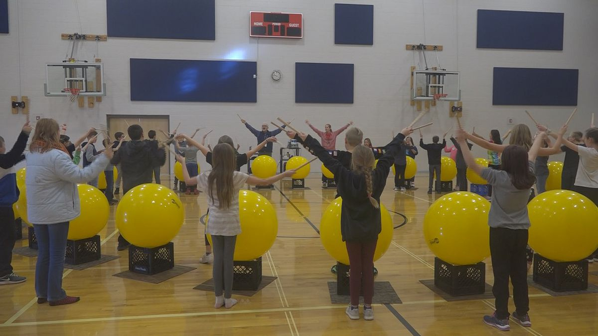 Students at Filer take part in a new activity thanks to a grant from Cap Ed