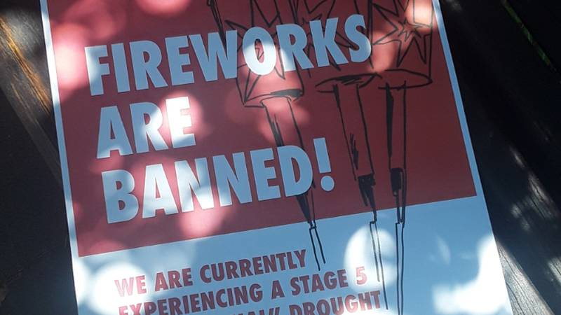 Fireworks bans are in place in Blaine County this Fourth of July