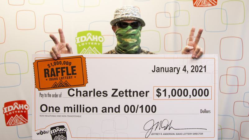 Jerome's Charles Zettner is Idaho's newest millionaire after winning the Idaho Lottery's...