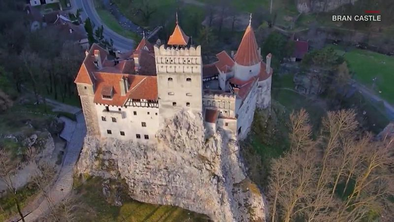 Dracula's Castle in Transylvania is offering free vaccinations to anyone brave enough to visit.