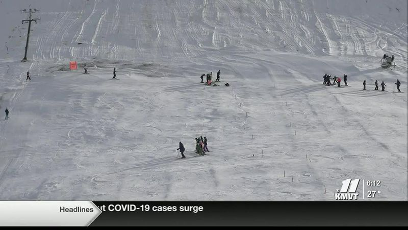 The RotaRun has a surface lift and a new snow making system, providing the team with a place to...