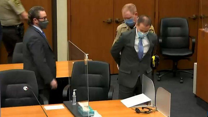 Derek Chauvin was found guilty in the death of George Floyd.