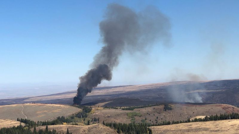 Firing operations on the Badger Fire