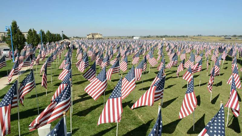 3,000 flags event promises to never forget the victims of 9/11