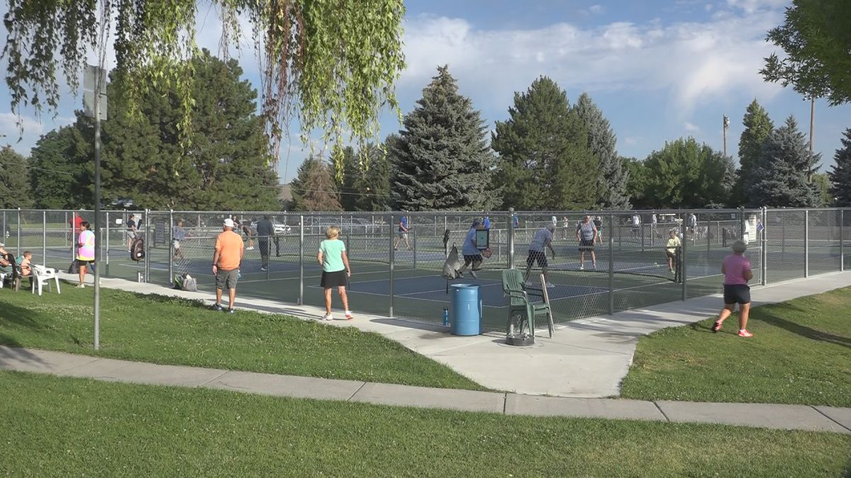 The idea comes from two teachers, who started playing pickleball over spring break, and noticed several other teachers from surrounding districts playing as well.