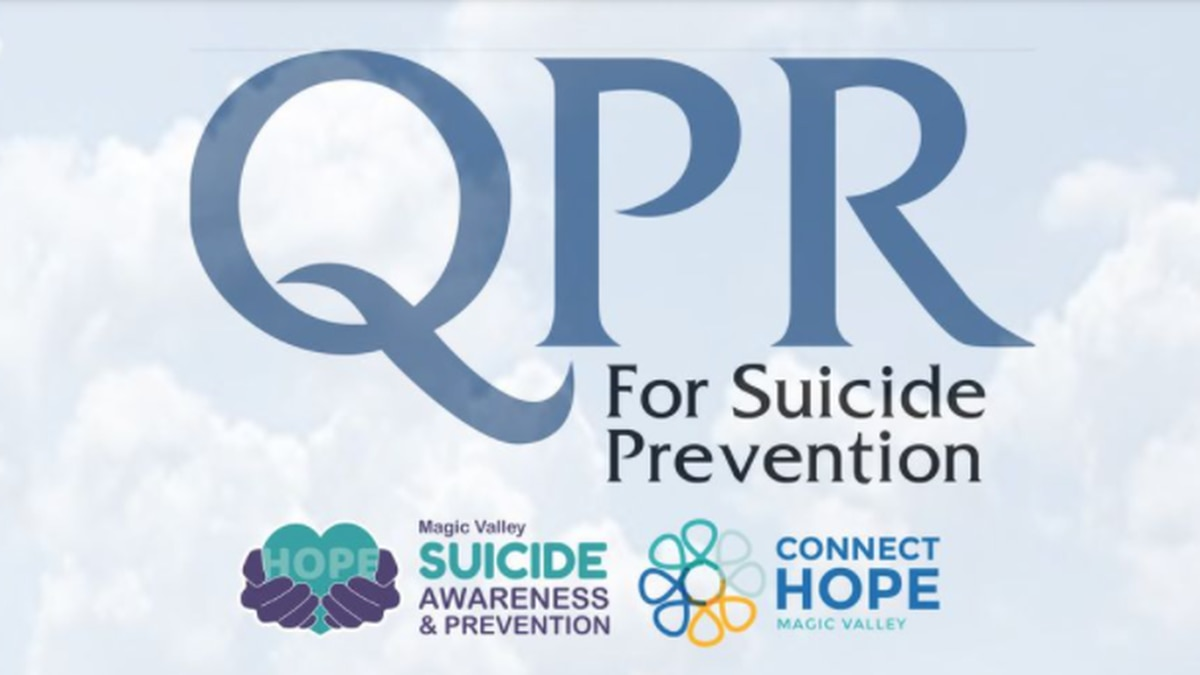 Suicide prevention training will be coming to Twin Falls Sept. 16.