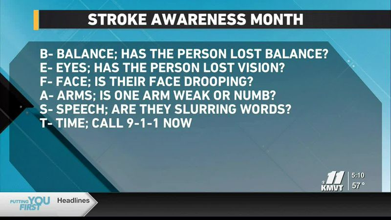 May is National Stroke Awareness Month, which is used as a time to raise awareness about what...