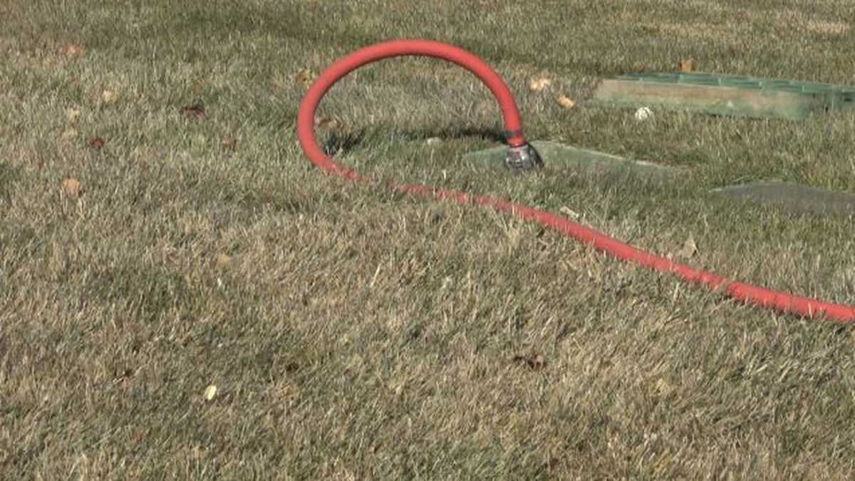 Cleaning up your leaves and blowing out your sprinklers are a few ways to make sure your yard is ready for the cold temperatures. (Source: KMVT)
