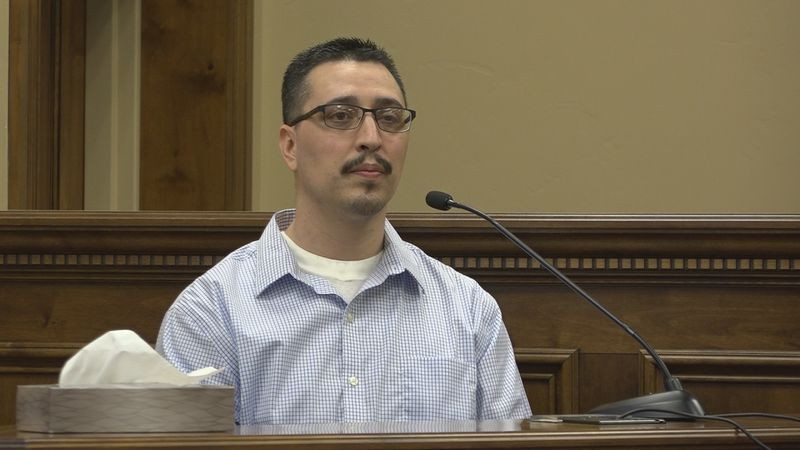 Joshua Molina took the stand in his own defense on Wednesday.(KMVT)