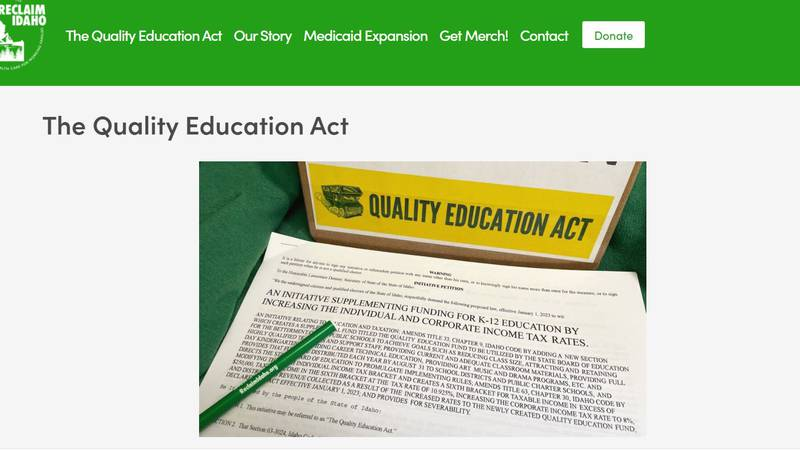 Quality Education Act