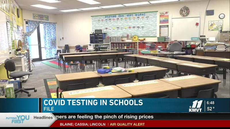 The Twin Falls School District offers COVID-19 testing for students and staff