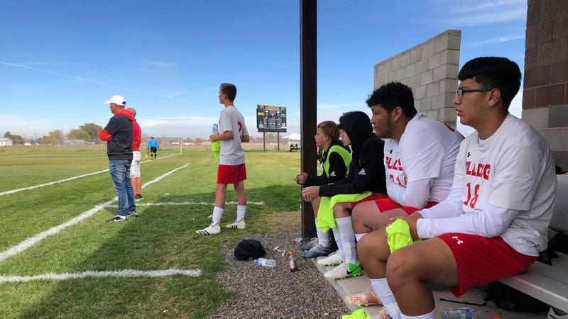 The No. 8 seed Kimberly Bulldogs shocked the Idaho high school soccer world Thursday, by...