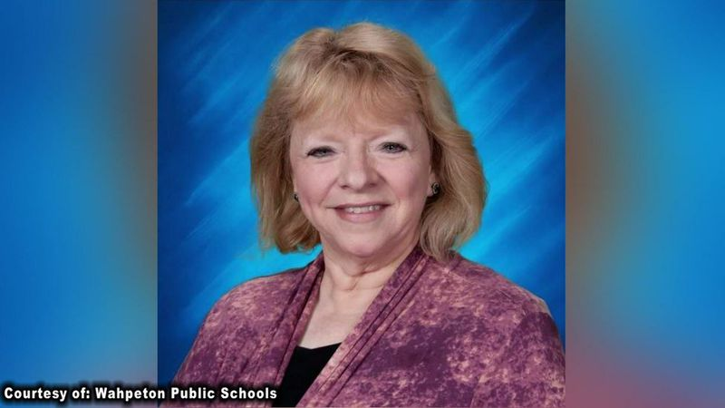 Barb Michelson, a fifth grade teacher at Wahpeton Elementary School, is on administrative leave...