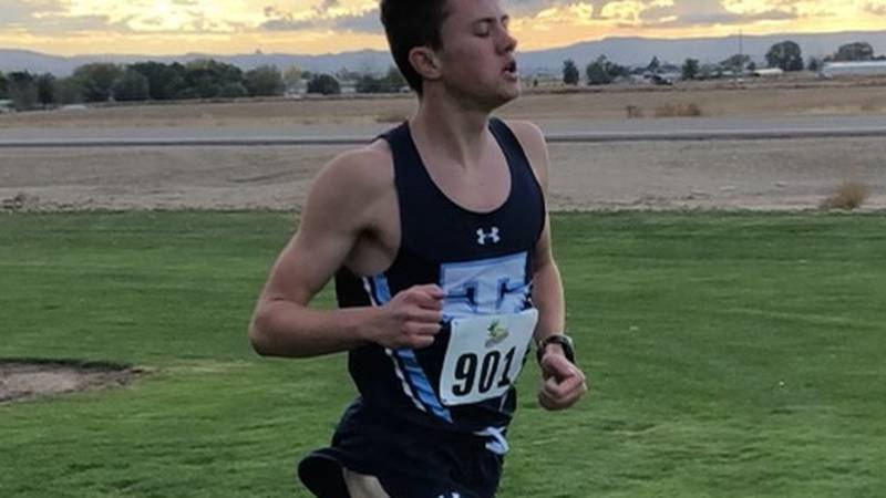 A Twin Falls cross country runner just set a new school record. Now he has one of the top five...