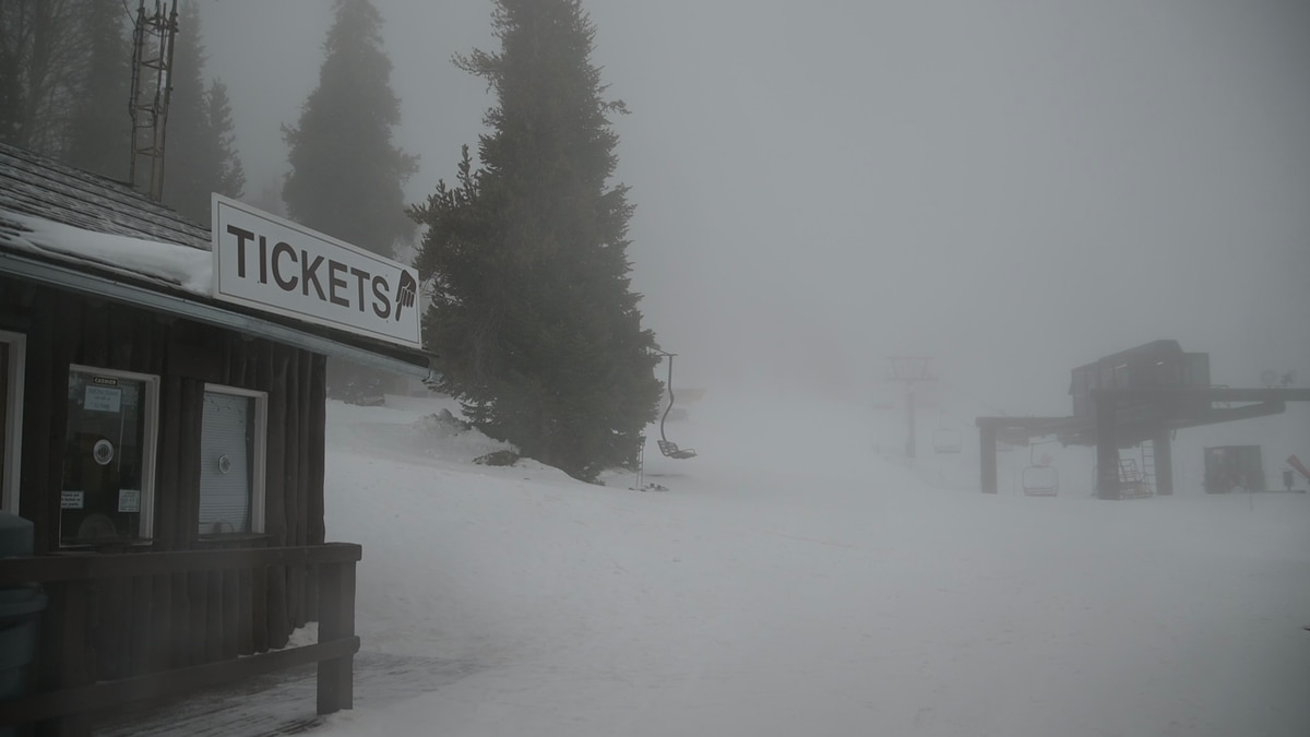 Pomerelle Mountain has been open for skiing and snowboarding and has seen a sharp increase in...