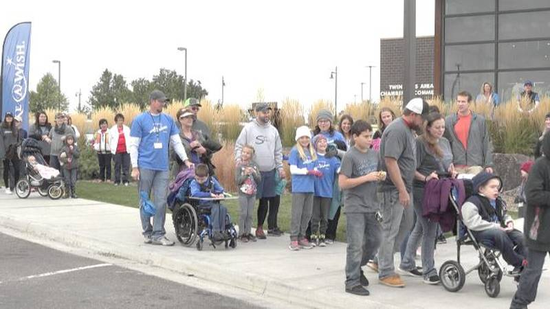 The walk for wishes is on September 25.