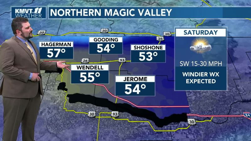 Incoming cold front will bring changes to Southern Idaho