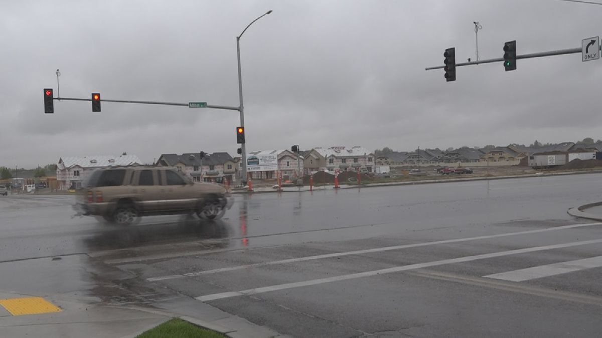 Twin Falls drivers can expect detours on Addison Avenue and Carriage Lane starting Tuesday, May 26. (Jake Manuel Brasil KMVT/KSVT)