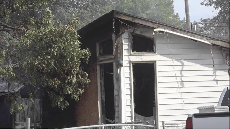 Structure fire in Twin Falls
