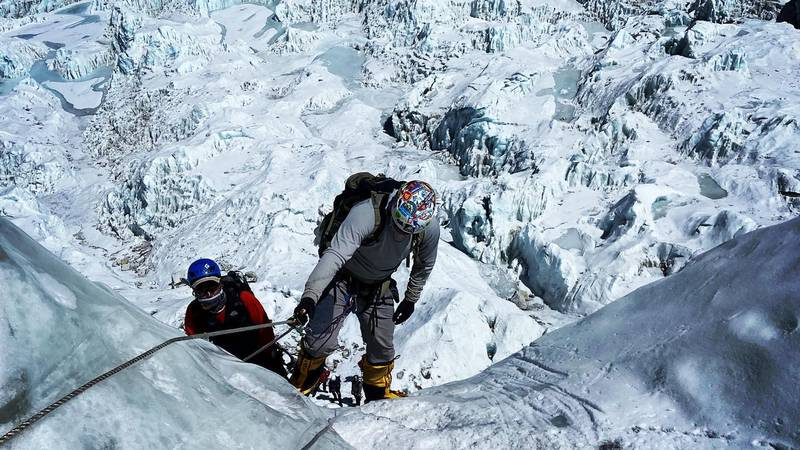 Mark Pattison, a former NFL wide receiver and Idaho resident just completed the Seven Summit...