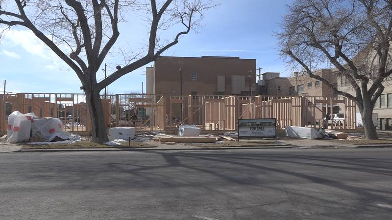 The construction of 11 single-family homes in downtown Twin Falls is on schedule, and...