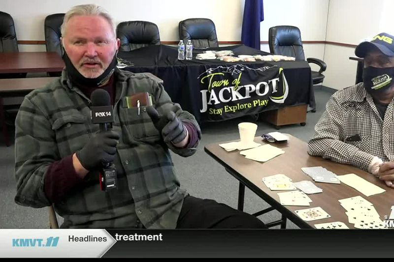 Jackpot opens up a senior center for it's community