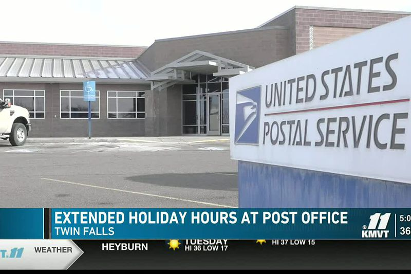 The U.S. Postal Service is prepared for the holiday season and will offer extended retail hours...