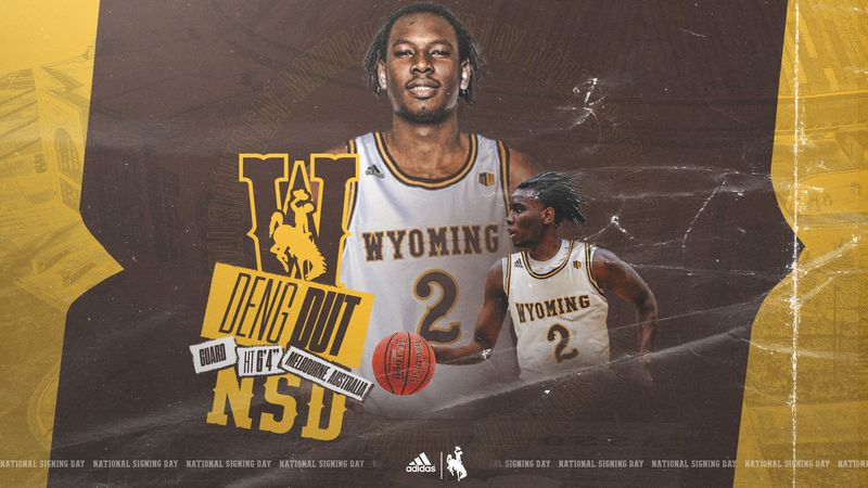 The University of Wyoming landed Deng Dut, a first team All-American from CSI.