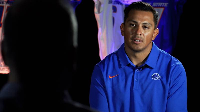 Andy Avalos and the Broncos are in Las Vegas this week for the annual Media Days event.