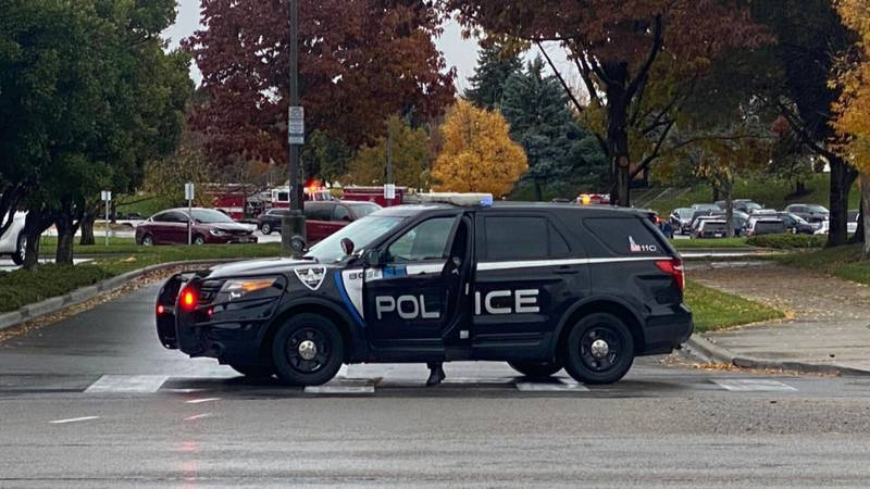 Five people and a Boise Police officer were injured