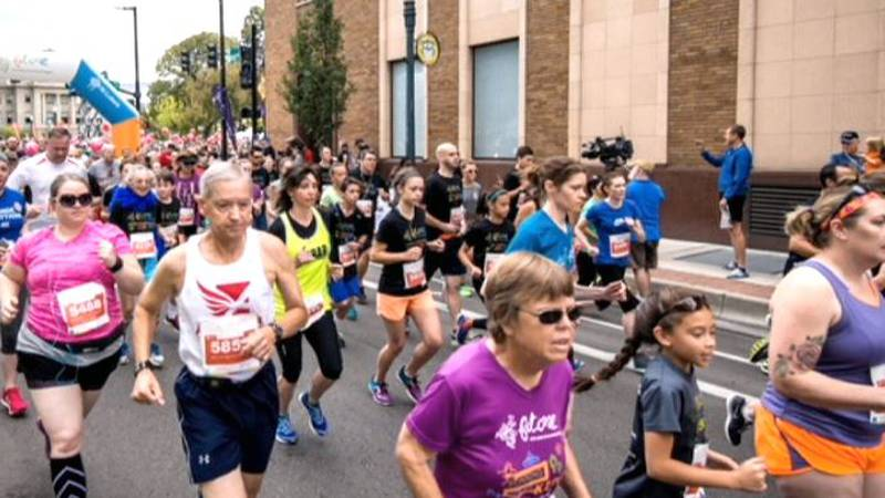 St. Luke's is hosting their race both in person and virtual this year. (Photo from 2017 race)