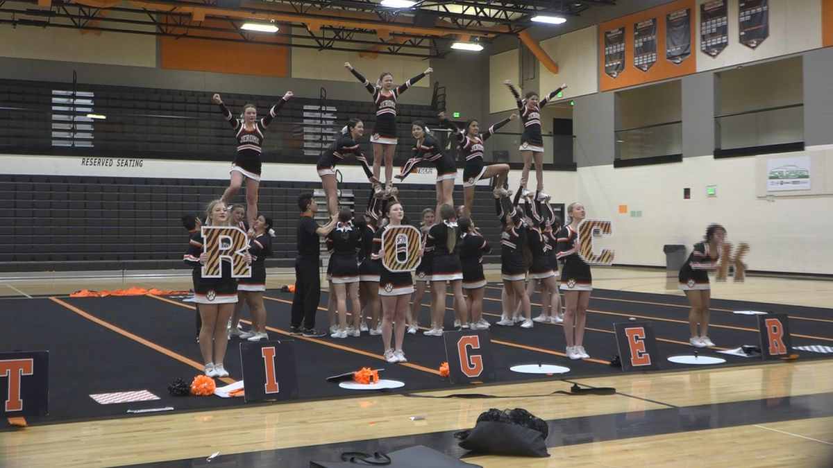 The Jerome cheer team returned from nationals with a fifth place finish (Source: KMVT)