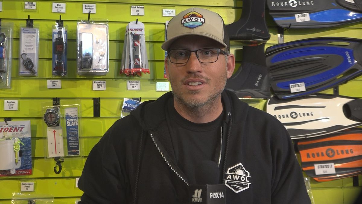 KMVT talked with AWOL Adventure Sports owner Paul Melni about how they're handling the new...