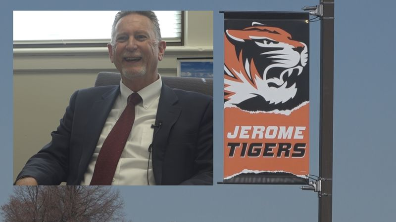 The Jerome School District superintendent Dale Lane is planning to retire this year after 30...