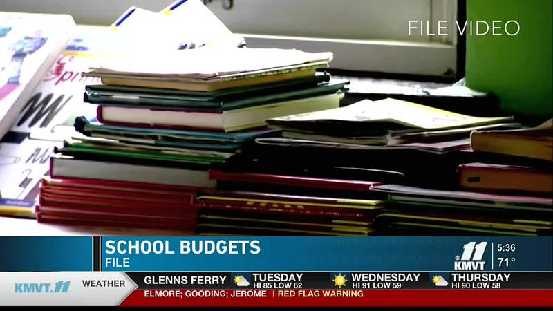 The Twin Falls School District receives its funding from three different groups.