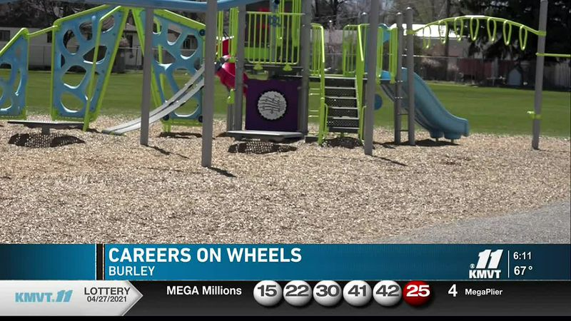 Paramedics, police officers, and firefighters have all been a part of Careers on Wheels in...