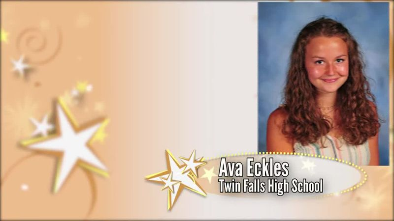 This week's Academic All Star is Ava Eckles from Twin Falls High School.
