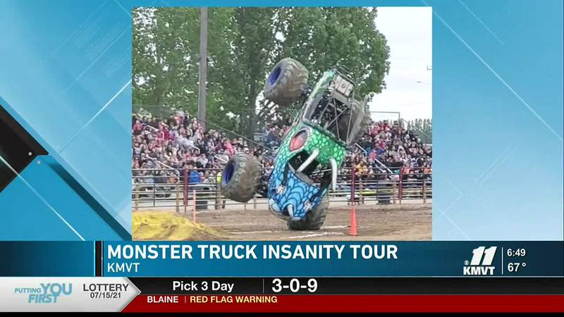 On June 24 Monster Truck Insanity Tour will take over the Twin Falls Country Fairgroungs