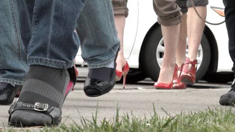 Walk a Mile in her Shoes event coming up.