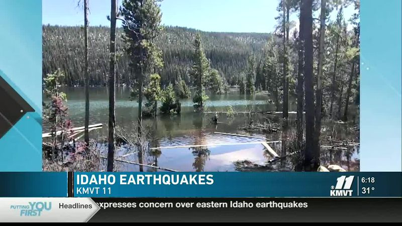 Gov. Brad Little said we should be more concerned about earthquakes in Eastern Idaho