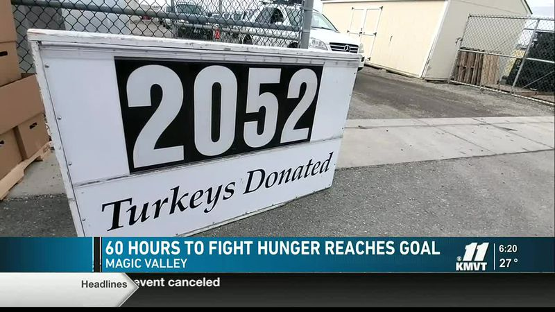 Last minute donations helped 60 Hours to Fight Hunger surpass 2,020 goal