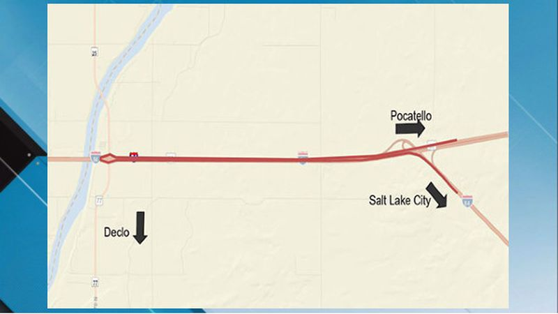Traffic heading west on Interstate 86 to connect to Interstate 84 headed to Salt Lake City will...