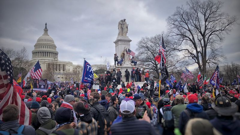 So much of the world watched what went on at the U.S Capitol building on Wednesday, including...