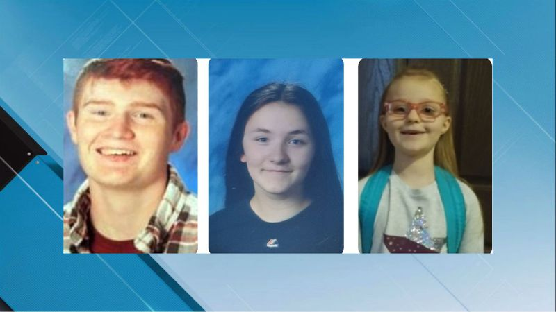 Three children missing, last seen in Emmett. (Photos of the children provided by Gem County...